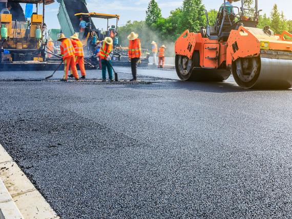 Produkty k silničnímu stavitelství